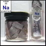 Natrium foto